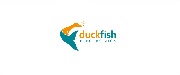 Duck and Fish Logo