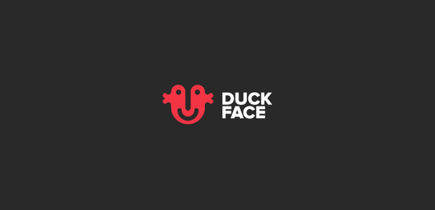 Double Duck Face Logo