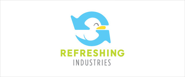 Refreshing Industries Duck Logo