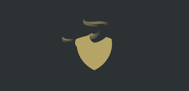 Blank Plain Bull Logo Illistration