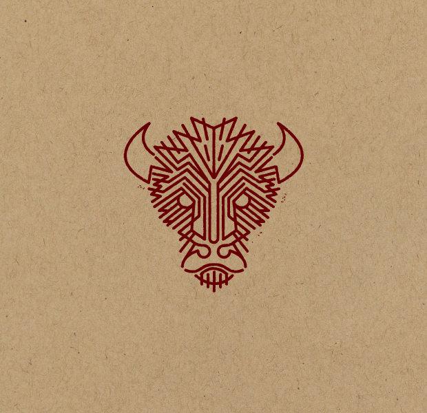 Creative Bull Face Logo