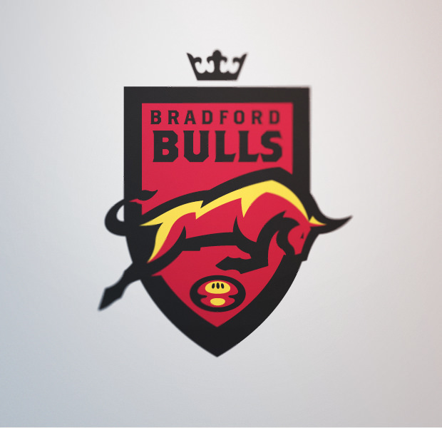sports league symbol bull logo design