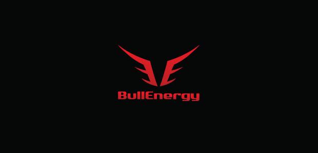 Business Advertiosing Bull Logo Illistration