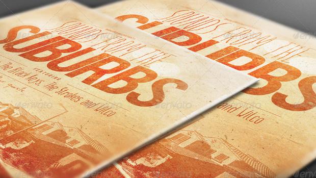 Poster Perspective Mockup Bundle