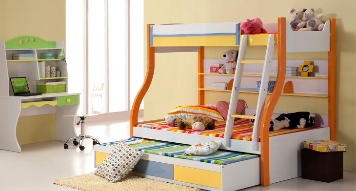 Beautiful Img. When It Comes To Design Kidsu0027 Bed ...