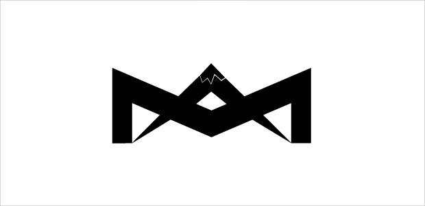 scenery moutain view logo design