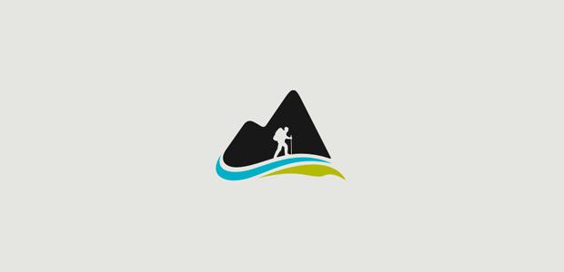 natural beauty moutaion logo design