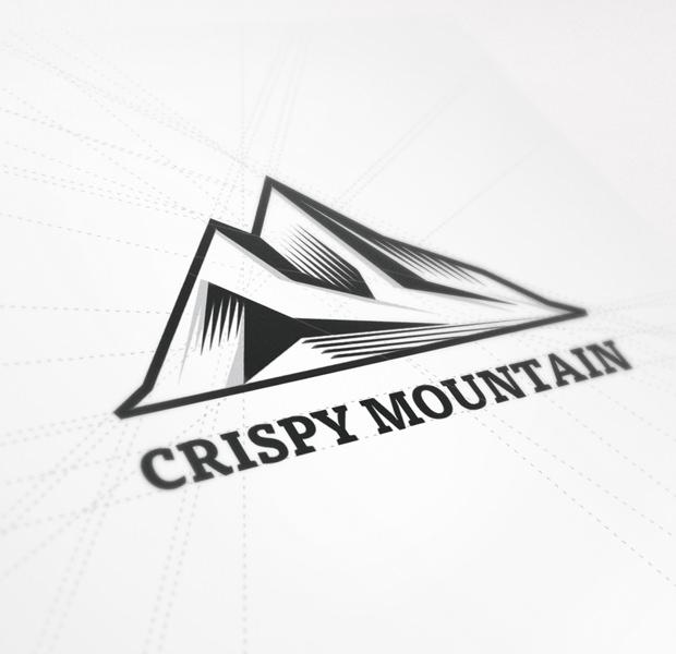 symbol mark mountain design logo