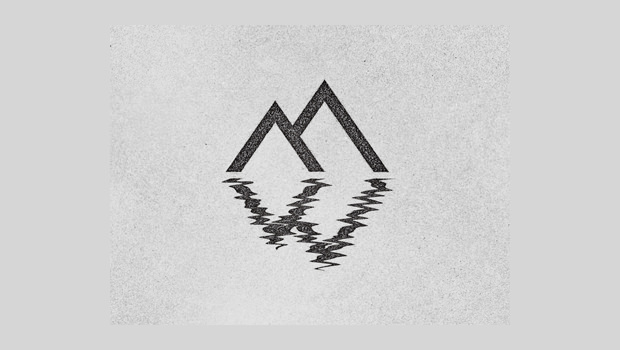 Lake and Mountain Illistration Logo