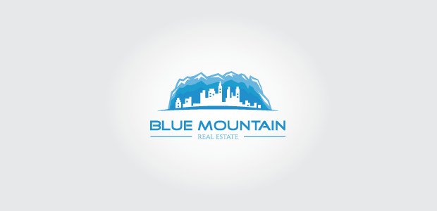 Business Mountain Logo Symbol