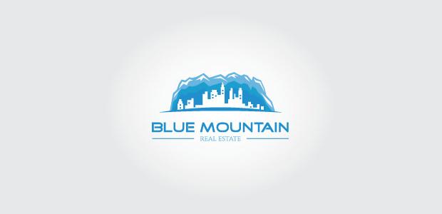 business mountain logo symbol