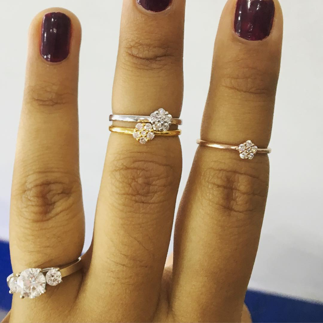 Trendy Diamond Rings For Wedding