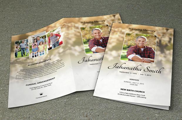 15+ Psd Obituary Template, Psd Download | Design Trends - Premium ...