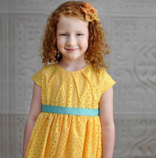 girls party dress pattern