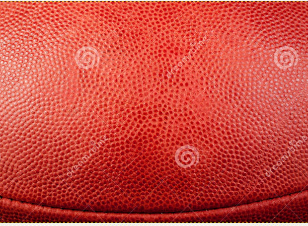 Football leature Texture close edge