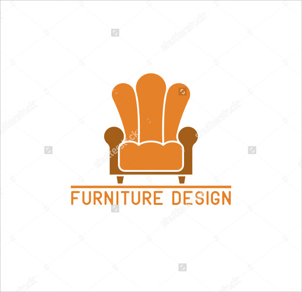 Armchair Furniture Design Logo