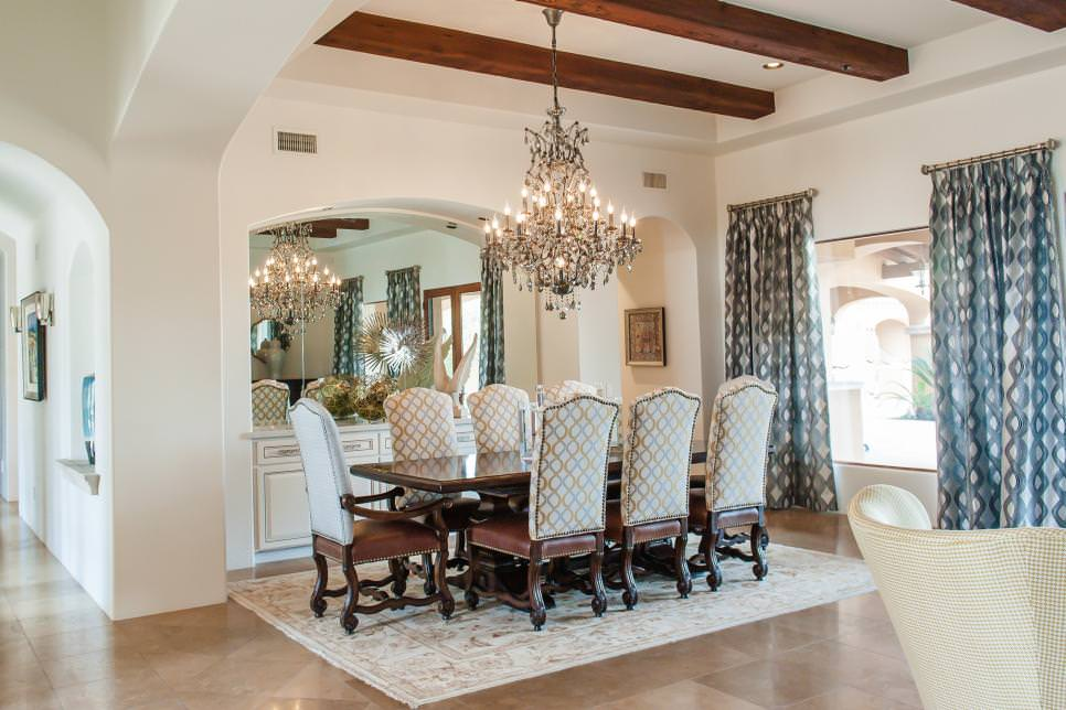 Traditional rustic chandelier