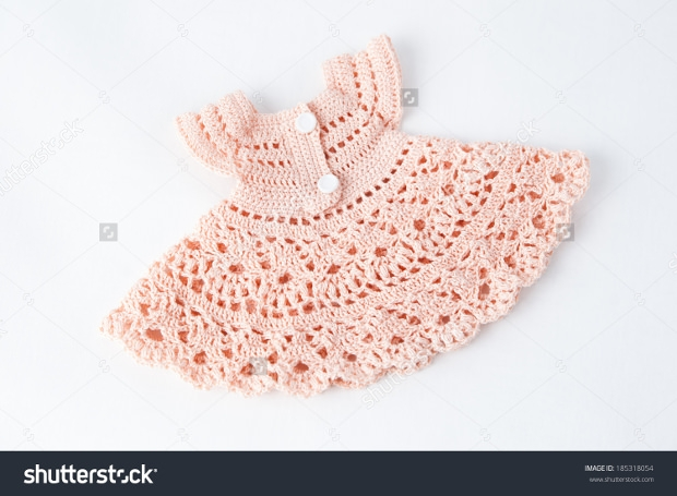 Handmade Knitted Dress
