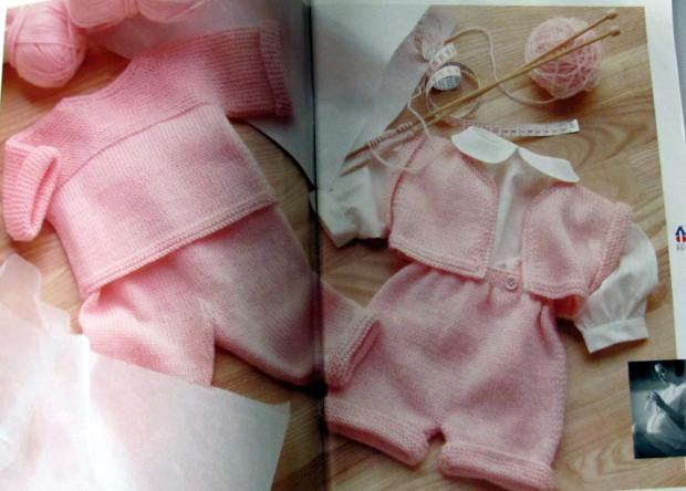 Pingouin Knitting Baby Layettes