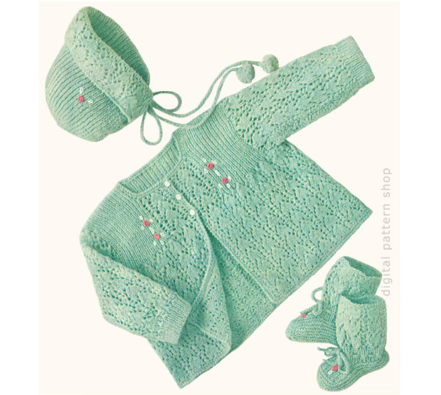 Vintage Knitting Baby Patterns : 17+ Baby Knitting Patterns, Textures, Backgrounds, Images Design Trends - P...