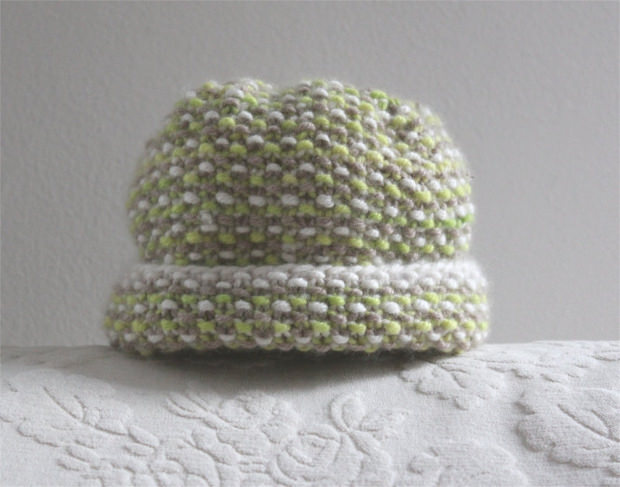Infant Cap knitting pattern PDF