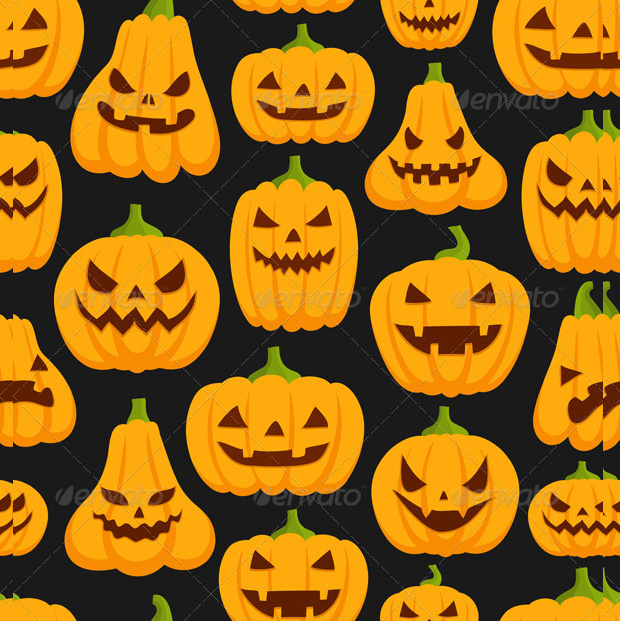 Halloween Scary Pumpkin Carving Patterns