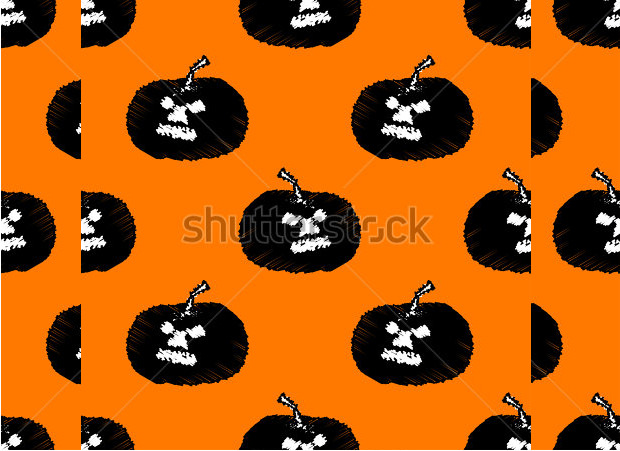 vector scary pumpkin carving patterns