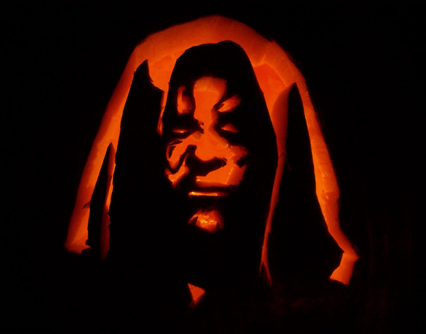 darth scary pumpkin carving patterns