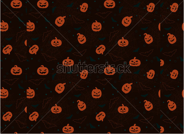 brown scary pumpkin carving patterns