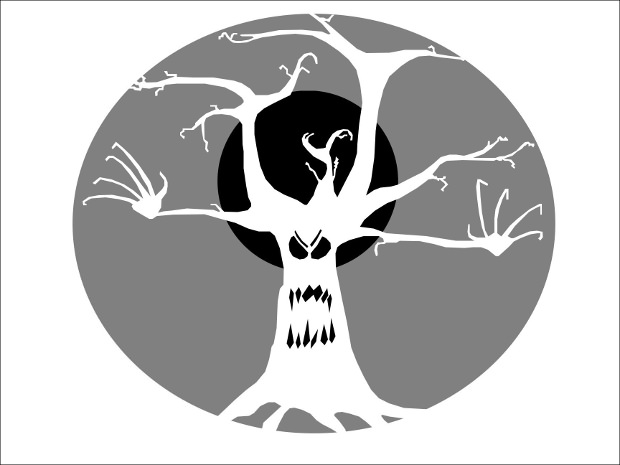 tree scary pumpkin carving patterns