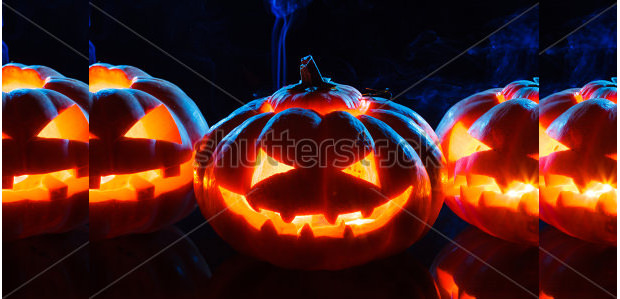 head scary pumpkin carving patterns