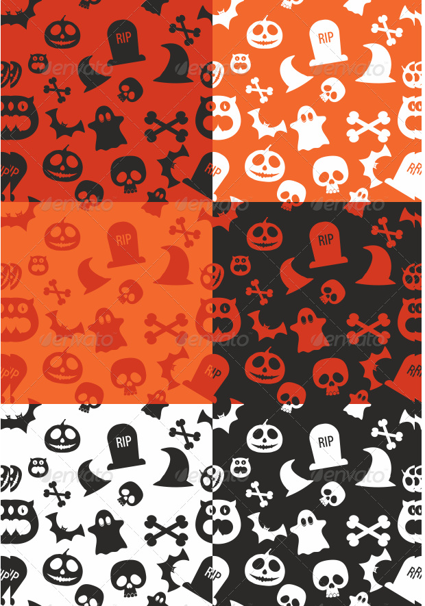 Bright Scary Pumpkin Carving Patterns