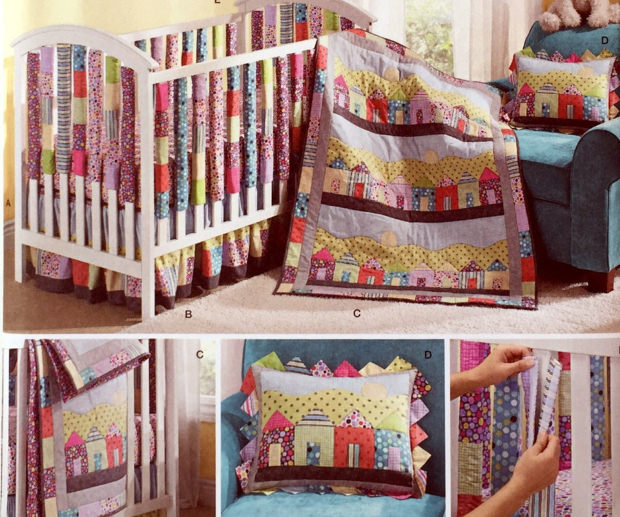 Simple Baby Quilt Pattern