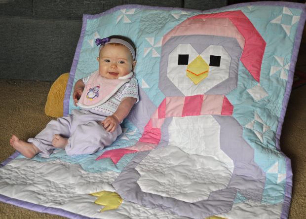 Penguin Baby Quilt Pattern