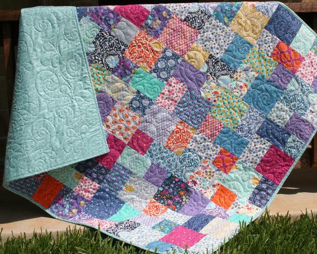 Modern Vintage Quilt Pattern