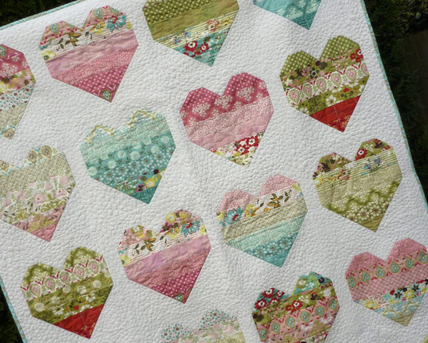 Hand Quilting Heart Patterns : 19+ Baby Quilt Patterns Download Patterns Design Trends - Premium PSD, Vector Downloads