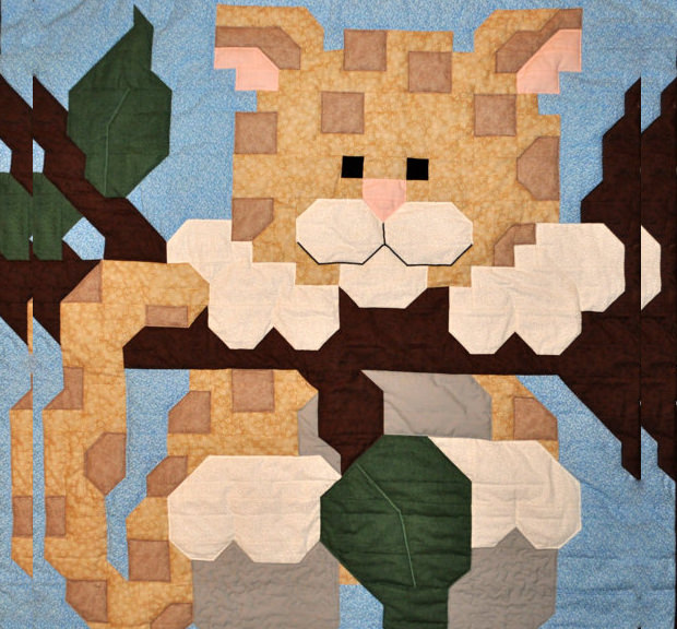 Baby Leopard Baby Quilt Pattern