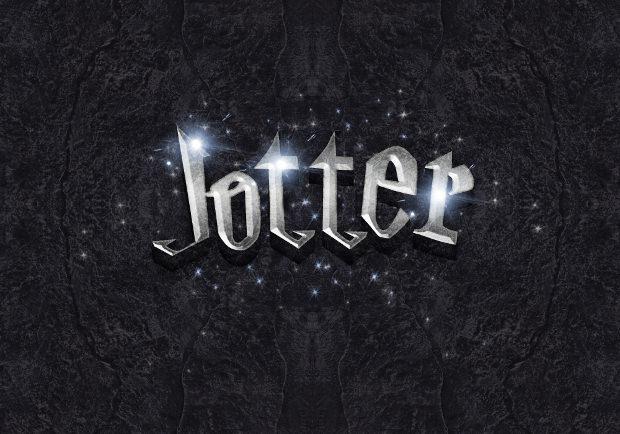 Movie Style Harry Potter Font