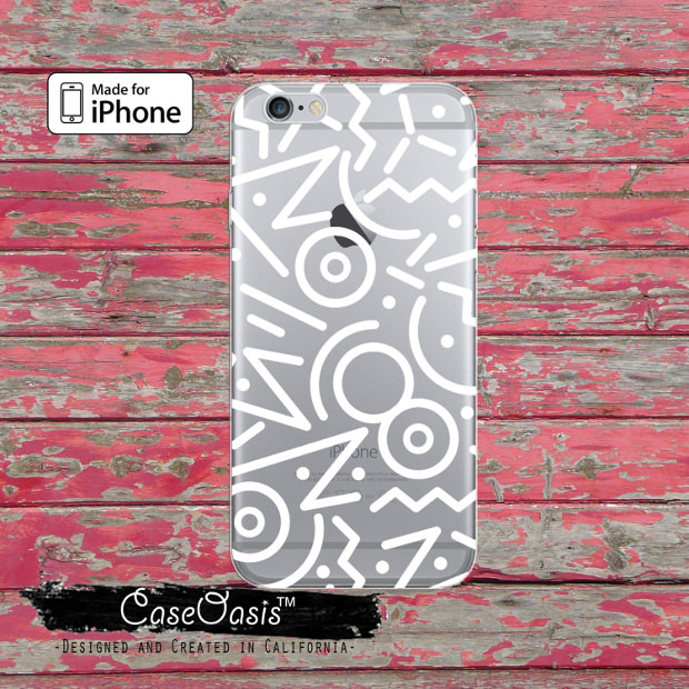 white line pattern for phone cases