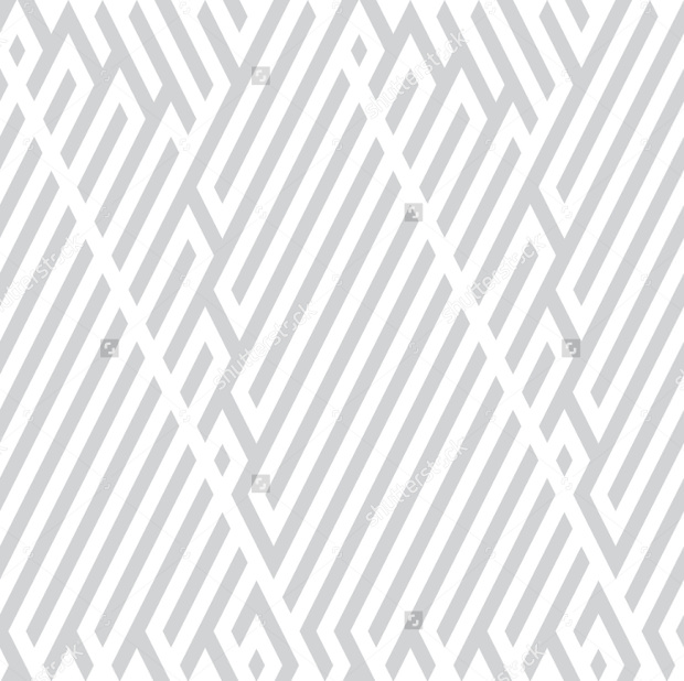 White Lines pattern With Gray Background