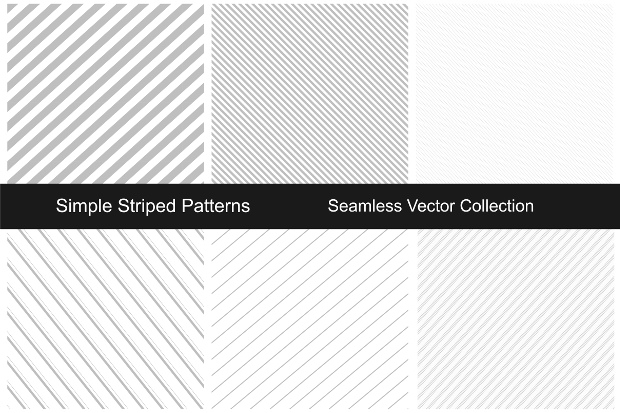 Striped White Line patterns