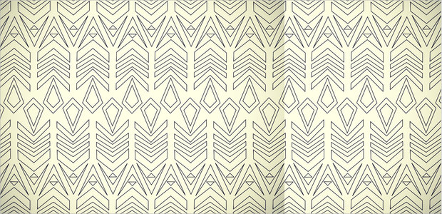 arrow white line pattern