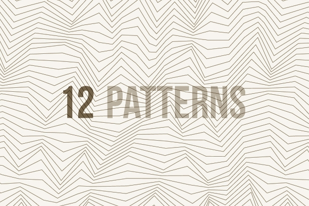 20 White Lined Pattern Designs Free Psd Pat Png