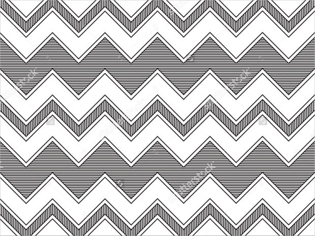 Different White Lined Pattern