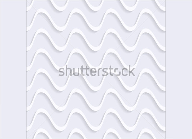 3D Vector White Line Pattern