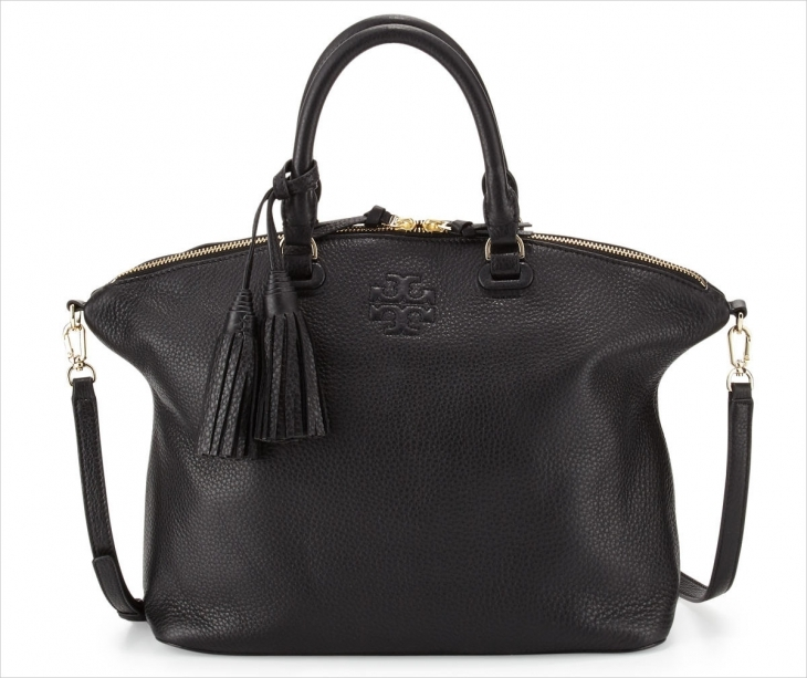 Tory Burch Pebbled Leather Handbag