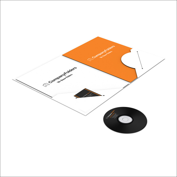 a4 pocket presentation folder template