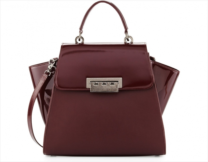 ZAC Zac Posen Awesome Leather Handbag Design
