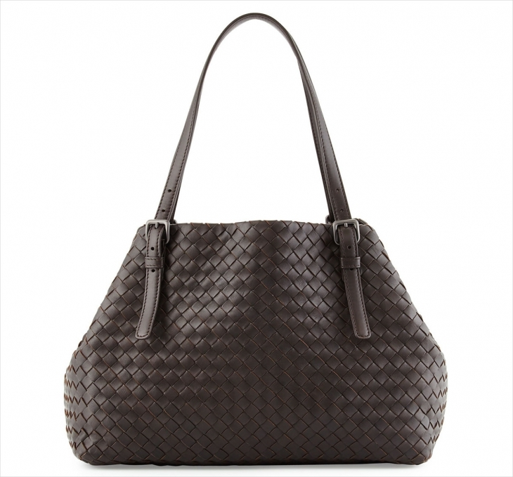 Bottega Veneta Brown Leather Bag
