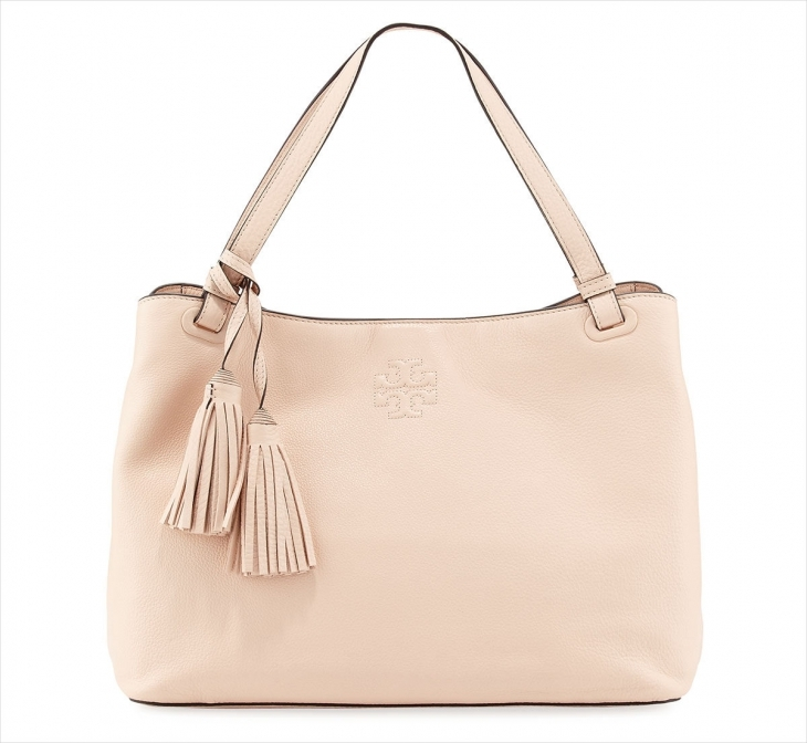 Tory Burch Light Pink Leather Bag